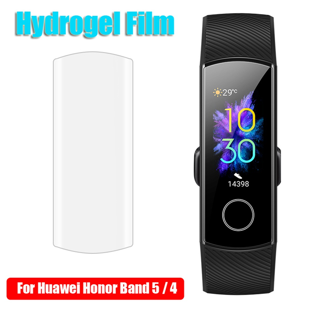 Full Protective Hydrogel Film For Huawei Honor Band 5 4 Watch Screen Protector Ultra Thin Durable Screen Protective Film