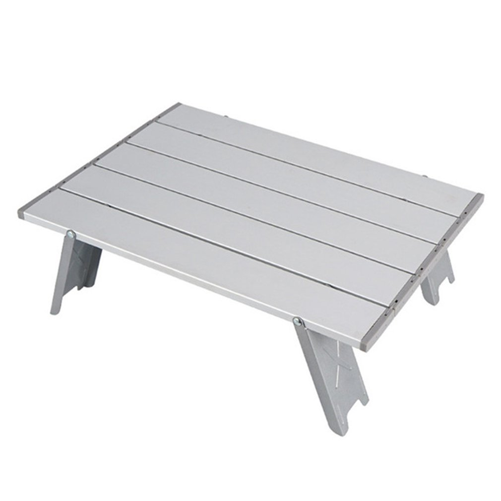 Mini Folding Table Outdoor Barbecue Camping Tent Household Bed Collapsible Computer Desk aluminum folding table