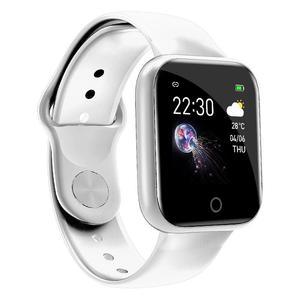 Image 5 - Reloj inteligente I5 IP67 para Android e iOS, reloj inteligente resistente al agua con control del ritmo cardíaco y de la presión sanguínea