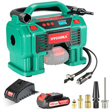 Fast-Charger Battery Air-Compressor-Tire HYCHIKA Portable Inflator for Tires-Balls And