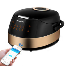4L Electric Smart Rice Cooker Wifi APP Control Touch Screen Spill-proof Pot Rice Cooking Machine 24-hour Appointment Easy Wash(China)