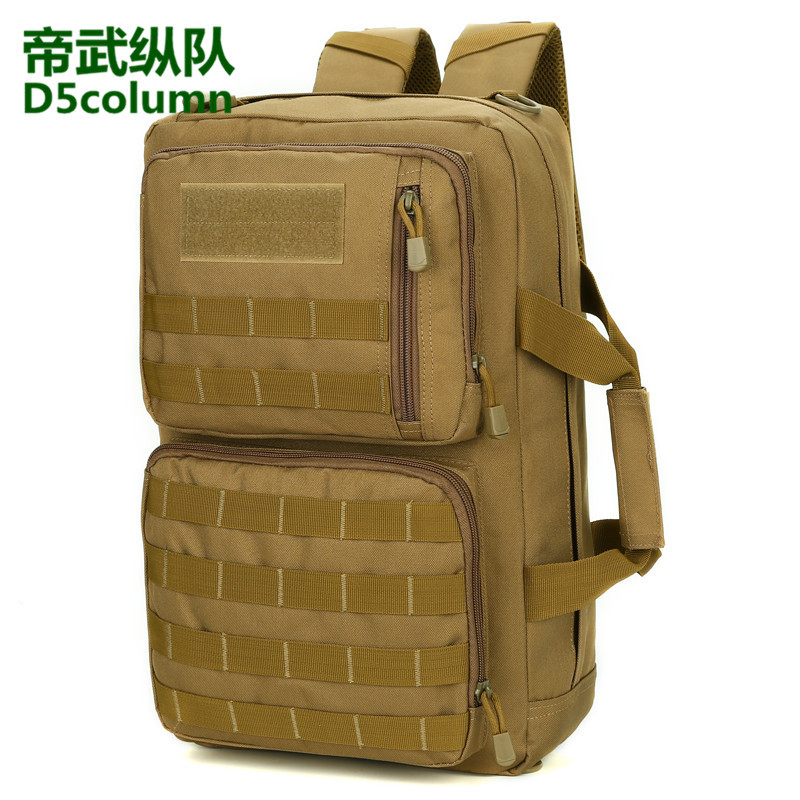 Outdoor Travel Bag Multi-functional Backpack Large Capacity Handbag Flexible Camouflage Waterproof Hiking Tactical Backpack
