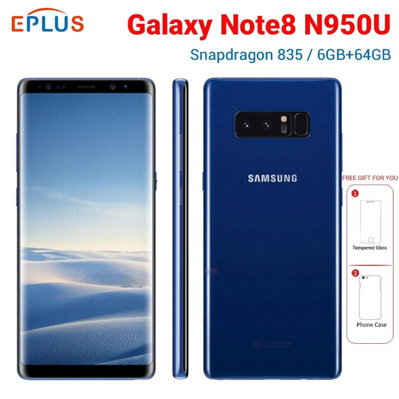 Nuevo Original versión DE Verizon Samsung Galaxy Note8 Nota 8 N950U teléfono móvil 6GB 64GB Snapdragon 835 de 6,3