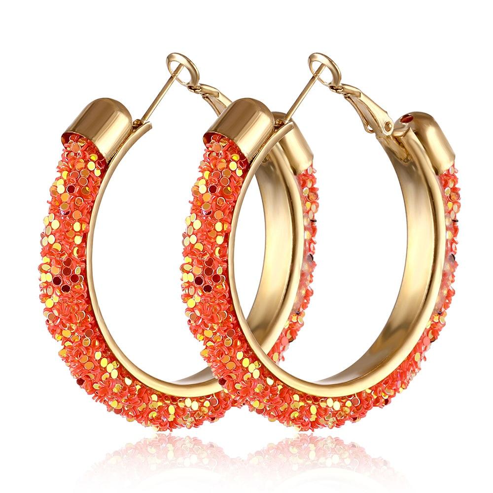 IPARAM, новинка, большие круглые серьги-кольца для женщин, модные, массивные, золотой, в стиле панк, очаровательные серьги, вечерние ювелирные изделия - Окраска металла: IPA0108-3