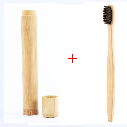 1pcs Natural Bamboo Toothbrush Bamboo Soft Toothbrush Handle Bamboo Toothbrush Adult Bamboo Products With Tooth Box Protection