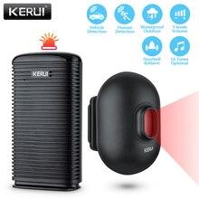 KERUI DW9 Wireless Driveway Security Alarm Waterproof PIR Motion Detector Garage Welcome Burglar Alarm Secure System Patrol