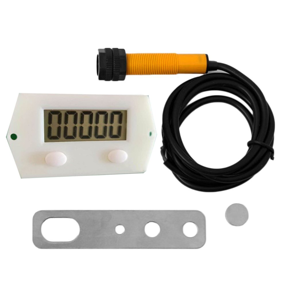 Counters Digital Electronic Counter Punch Five Digit Puncher Magnetic Inductive Proximity Switch LCD Reciprocating Rotary Magnet