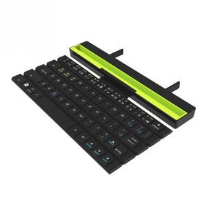 Image 4 - 1PCS With Holder Wireless Bluetooth Keyboard Universal Roll Up Quick Response Key Board with Phones Holder