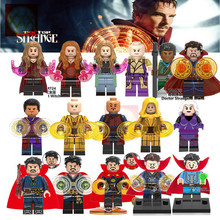 The Avengers Doctor Strange Wong Ancient One Cloak Weapon Baron Mordor Infinity War Super Hero Building Blocks Toys for Children(China)