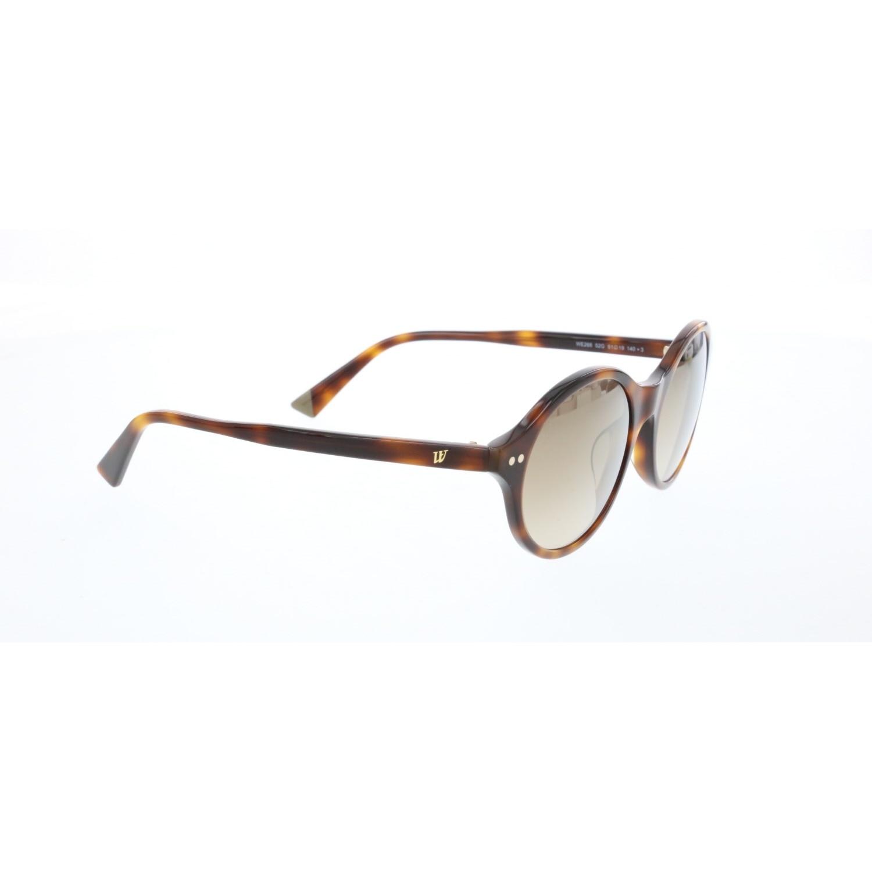 Women's sunglasses w 0266 52g bone Brown organic oval aval 51-19-140 web