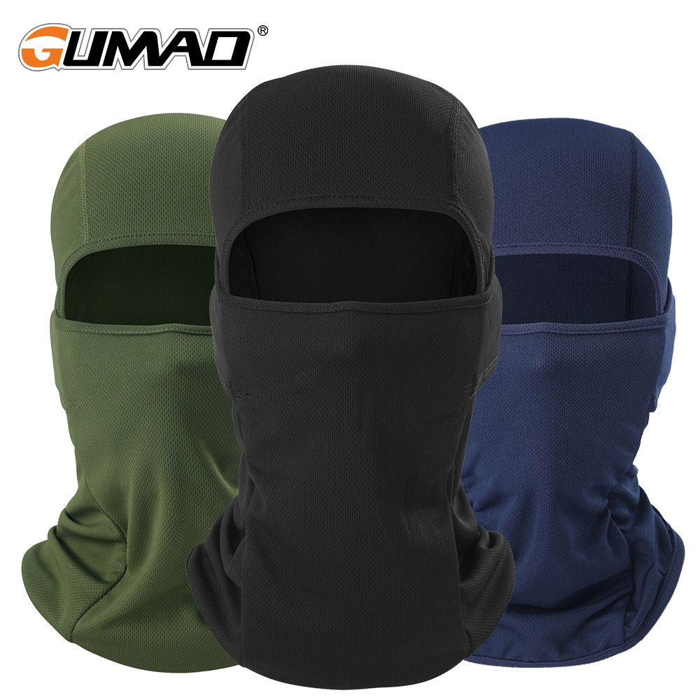 Outdoor Cycling Balaclava Full Face Mask Bicycle Ski Bike Ride Snowboard Sport Headgear Helmet Liner Tactical Paintball Hat Cap