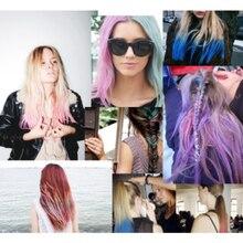 Многоразовая портативная быстрая краска для волос набор 6 цветов временное моделирование Мода DIY цвет волос воск грязь OA66