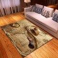 Мягкие фланелевые коврики с узором карта мира для гостиной  спальни  Декор  ковер для кухни  Противоскользящий коврик для пола  3D Рисунок  ко...