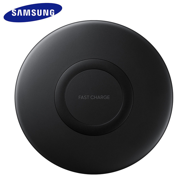 EP P1100 cargador inalámbrico rápido QI para SAMSUNG Galaxy, almohadilla de carga inalámbrica rápida de 10W para SAMSUNG Galaxy S10 S10E S9 S8 S7 edge Plus W2017 Kelly Fold Note 9 8 7 FE S lite