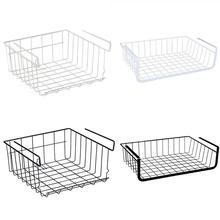Home Storage Basket Kitchen Multifunctional Rack Under Cabinet Shelf Wire Organizer