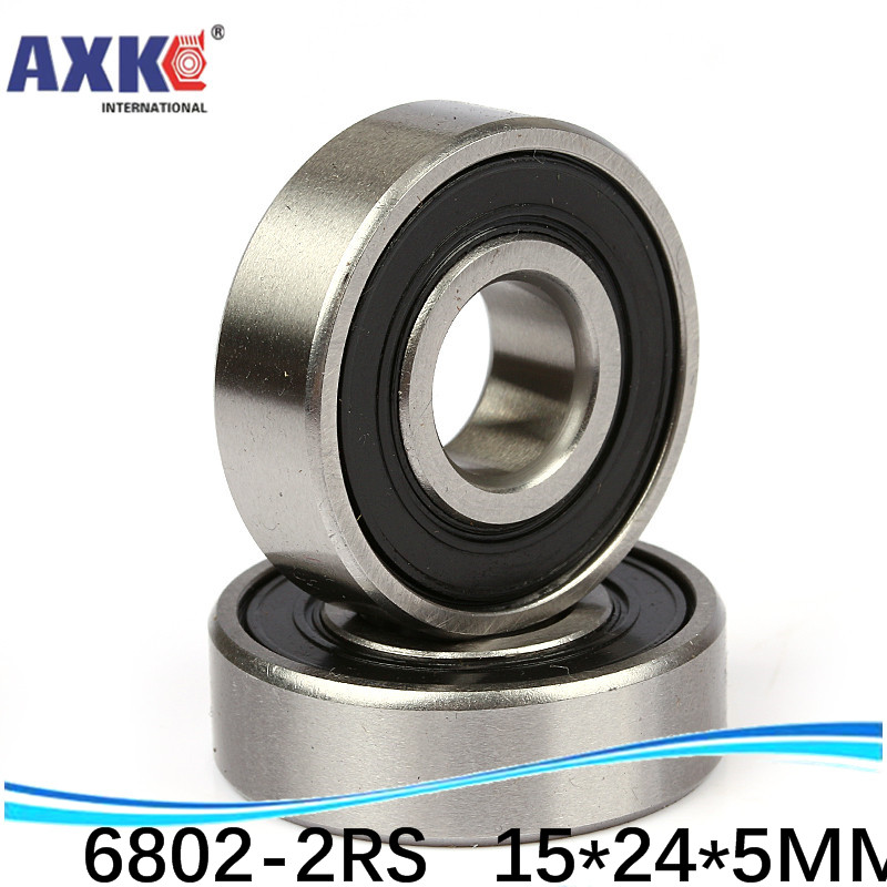 6802 61802 2rs 15x24x5mm Stainless Steel SEALED HIGH PERFORMANCE BEARING