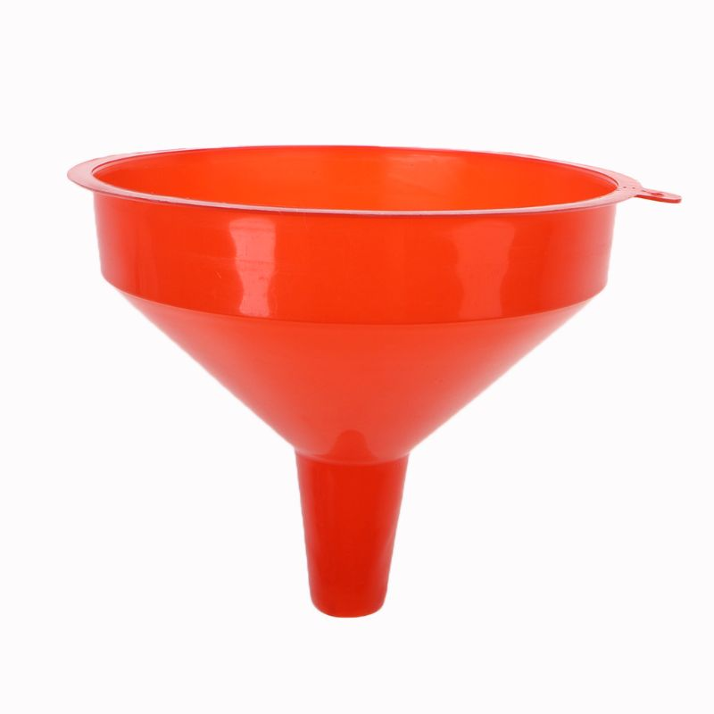 17.5X14.5cm Plastic Filling Funnel Spout Pour Oil Tool Petrol Diesel Car Styling For Car Motorcycle Truck Vehicle