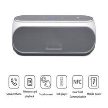 Bass High Power Bank Bluetooth Speaker Aux Soundbar Nfc Speakers Sound Bar Subwoofer Boombox Portable Loudspeaker Music Center(China)