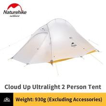 Naturehike 10D Nylon Camping Zelt 930g Ultraleicht Neue Upgrade Cloud Bis 1 2 Menschen Zelt Silizium Beschichtetes Im Freien wasserdicht Zelt