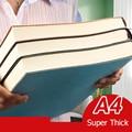 A4 Super Dicken Notizblock Studenten Nette Notebook Retro Farben Kreativität Schreibwaren 416 seiten Pu abdeckung Notebook Schule Liefert