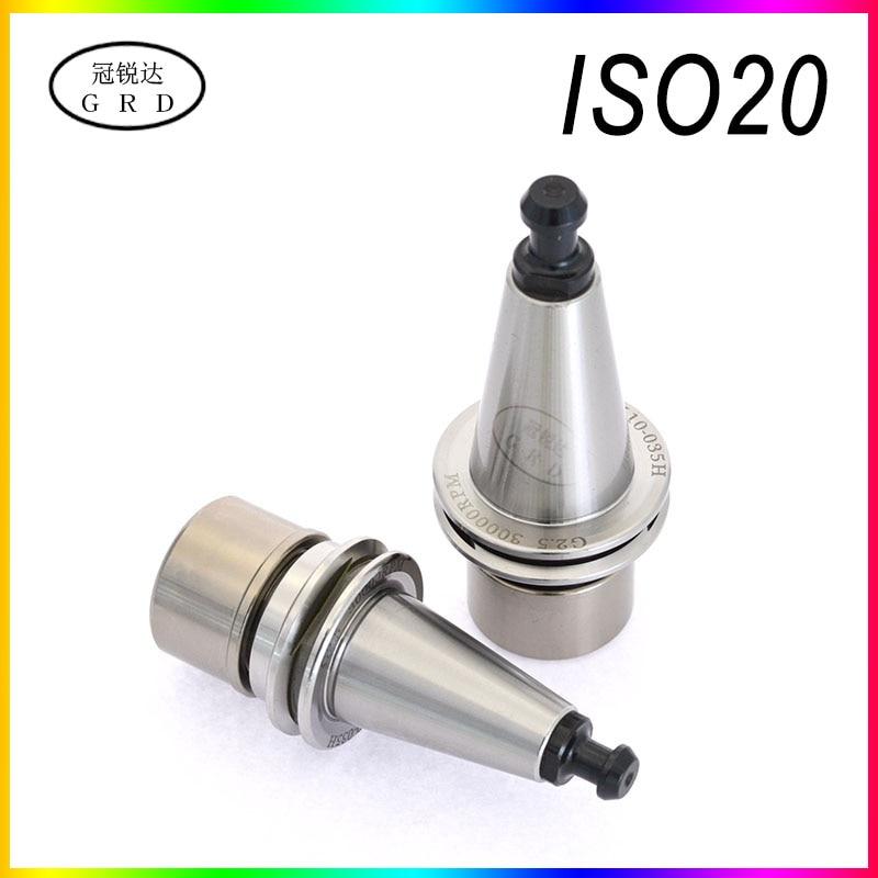 Iso20 Er20 Er16 Precision 0.003 Shank G2.5/2500-50000rpm Iso High Speed Engraving Tool Shank Lathe Tool Holder Spindle