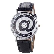Часы женские часы минималистичные с буквенным узором Модные женские Аналоговые Кожаные Классические кварцевые часы браслет часы YE1