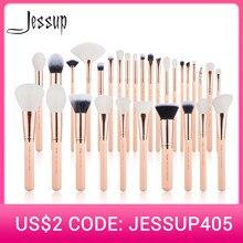 Jessup brushes 6pcs-30pcs Makeup brushes set Beauty kits Cosmetic Make up brush POWDER FOUNDATION EYESHADOW CONCERLER