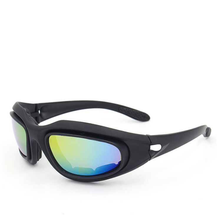 Outdoor Glasses Sports Military Version Of Windproof C5 Eye-protection Goggles CS Tactical Protective Eye Night Vision Windproof