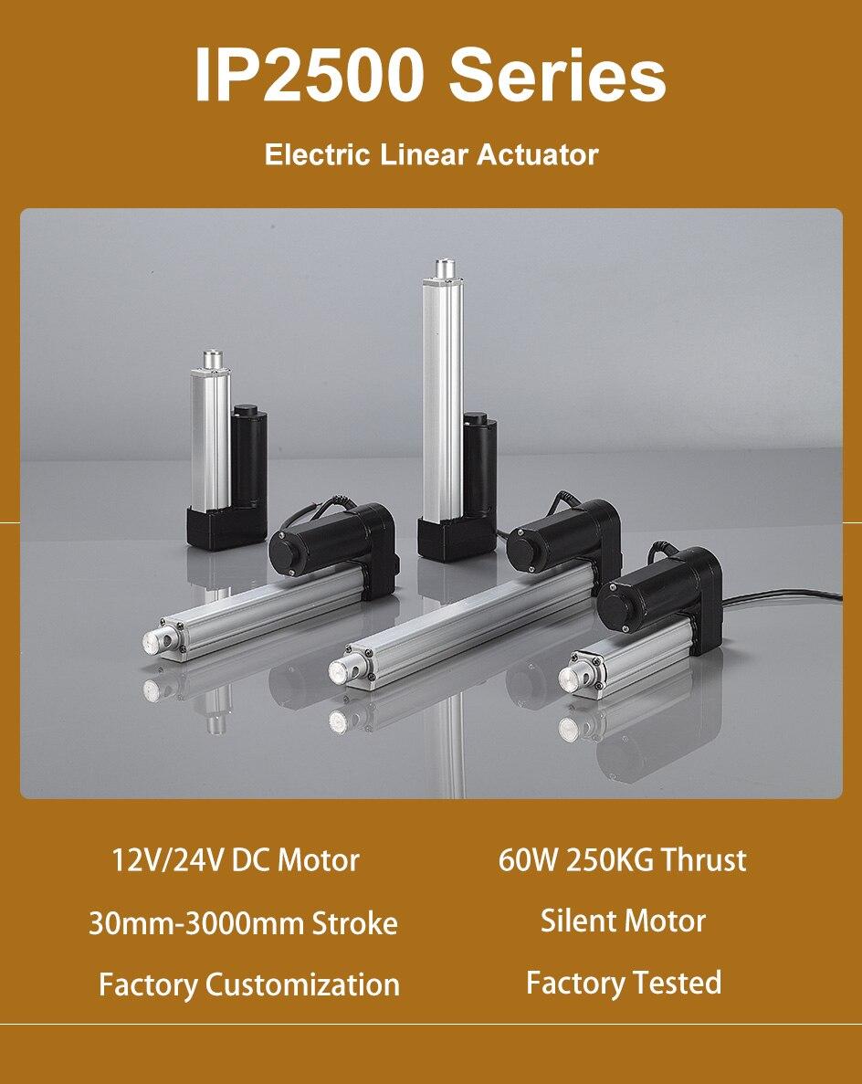 700mm 750mm stroke electric motor CHUNSHENN Motors Linear drive 350mm 450mm Size : 800mm maximum drawer 1500N 400mm DC12V linear actuator 200mm