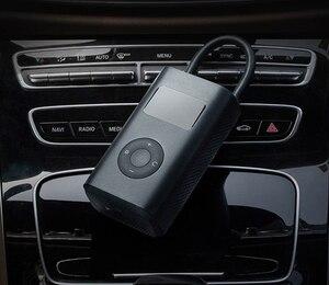 Image 5 - Yeni Xiaomi elektrikli şişirme pompası akıllı dijital lastik basınç algılama bisiklet motosiklet araba için futbol stokta