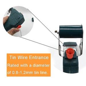 Image 3 - 110V/220V 60W Hand held Internal Heating Tin Electric Soldering Iron Kit Automatic Send Tin Gun Solder Repair Welding Tools