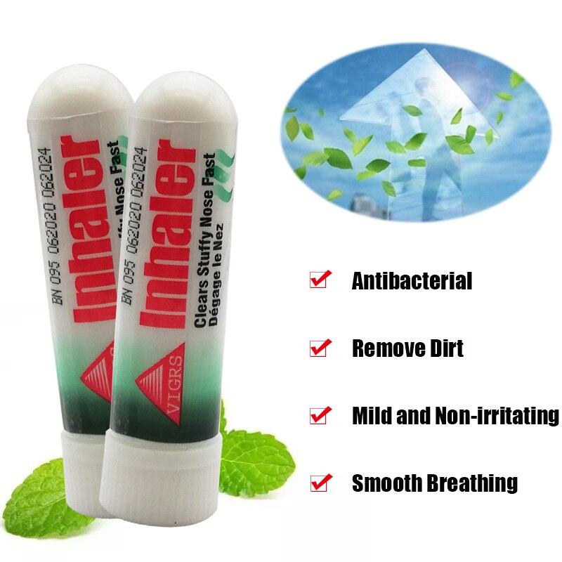 20 шт Таиланд контейнеры для носовых ингаляторов мятный крем оригинальный нос Эфирное Масла частично ориентированная нить азиатских палка ...