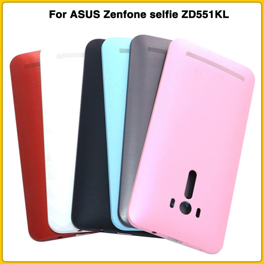 Rear-Housing-Case Side-Button Zenfone Selfie ASUS Back-Cover Door-Replacement Zd551kl-Battery