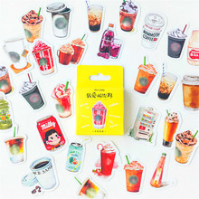 40pcs Beverage Colorful Scrapbook Sticker Scrapbooking Pads Paper Origami Art Background Paper Card Making DIY Scrapbook cheap