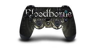 Image 4 - Bloodborne защитный Стикеры Крышка для PS4 контроллера DualShock 4 Playstation 4 Pro Slim наклейка PS4 кожи Стикеры винил