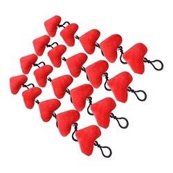 Kreatywne życie słodkie serce Mini pluszowe poduszki pluszowe brelok zabawka dekoracje walentynki prezent walentynki dekoracje ścienne do domu i Par w Haki i szyny od Dom i ogród na