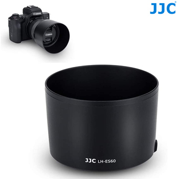 JJC Lens Hood Shade For Canon EF-M 32mm f/1.4 STM Lens On Canon EOS M200 M100 M50 M10 M6 Mark II M5 M3 M50 Mark II Replace ES-60 canon eos m200 kit 15 45 is stm белый