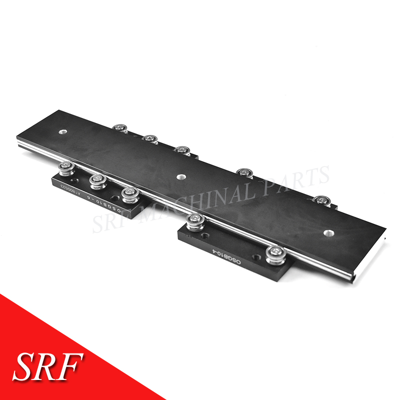 50mm width external dual axis linear guide OSGR10 L=700mm+2pcs OSGB10 Roller linear guide rail slide block-in Linear Guides from Home Improvement    3
