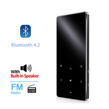 New Version Bluetooth MP3 Music Player with Touch Screen and Built-in 16GB HiFi Portable Walkman with Radio /FM/ Record/EBook