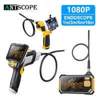 Antscope 4.3 pouces Endoscope industriel 1080P HD 8MM caméra d'inspection pour outil de réparation automatique serpent dur tenu dans la main Wifi Endoscope 35