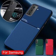 Luxus Ledertasche Für Samsung Galaxy S20 S10 S9 S8 Plus Hinweis 20 Ultra 10 8 9 Pro A70 A71 a51 A50 M31 M30S Auto Magnetische Abdeckung