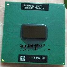 1 pcs 펜티엄 m 755 노트북 프로세서 노트북 cpu 펜티엄 pm755 2.0g 2 m sl7em 신규 및 원본
