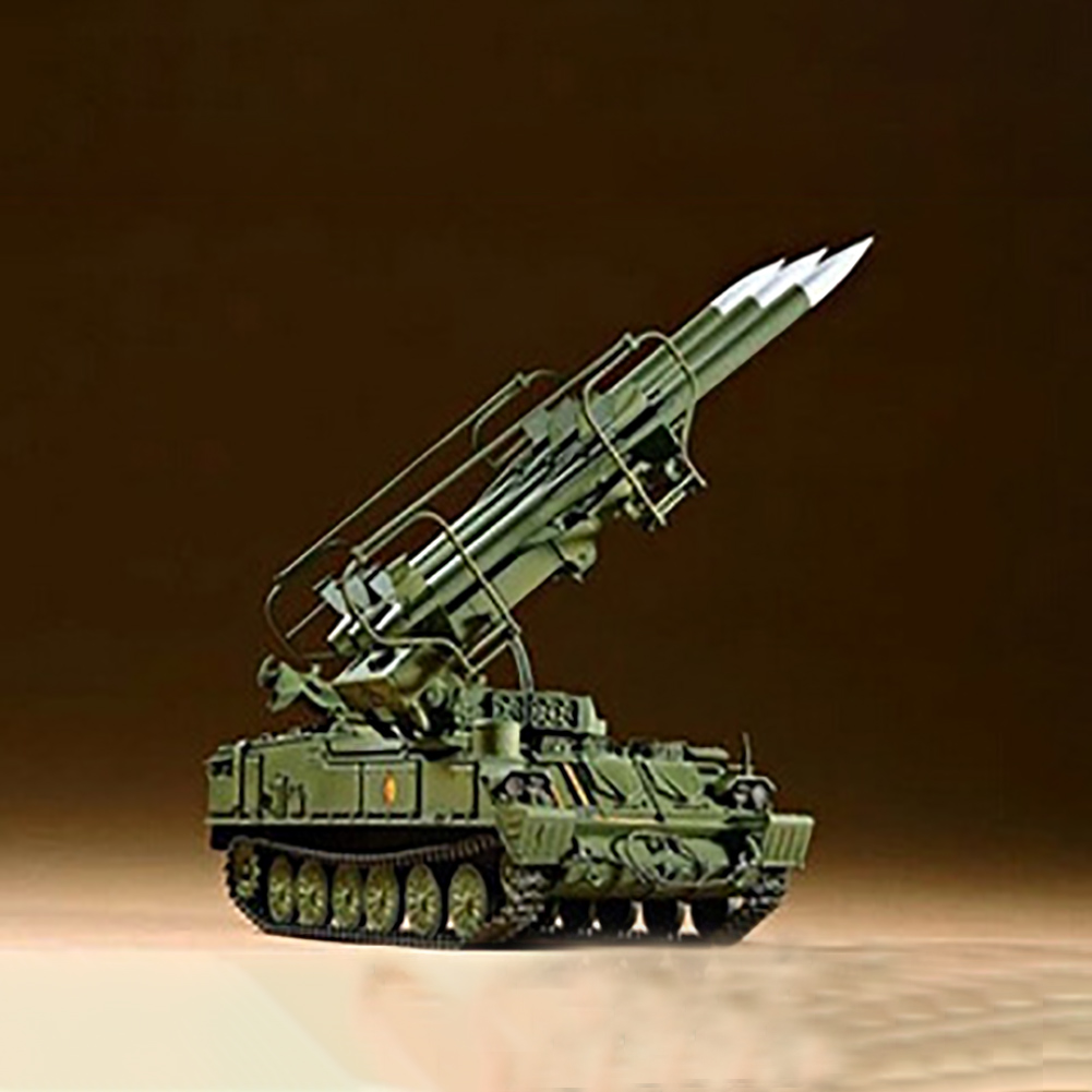 1:35 <font><b>Trumpeter</b></font> Kid Gift DIY Toys Russian Tank Assembly Durable Educational Plastic Antiaircraft Missile Model Kit Military image