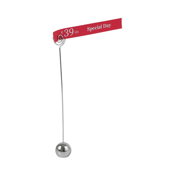 Price Tag Paper Sign Signage Label Card Display Clips Holders Metal Stand In Black For Stores Promotions 10pcs