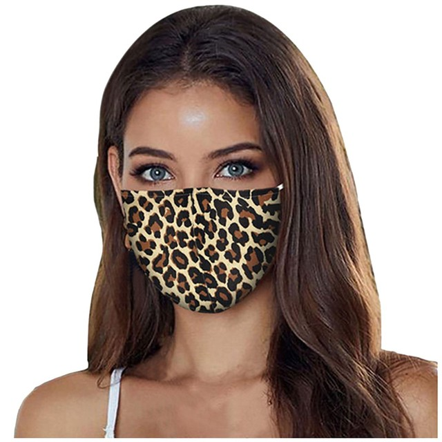 Ladies Fashion Face Mask Pm2.5 Outdoor Washable