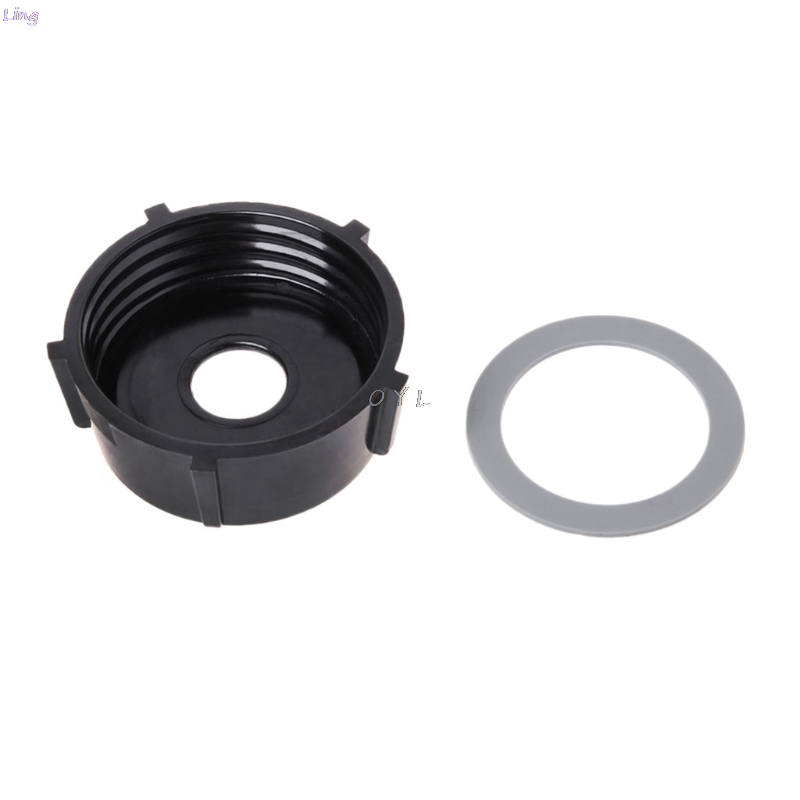 Bottom Jar Base with Cap Gasket Seal Ring for Oster Blender Replacement Part Juicer Spare Assembly Kitchen Appliance Parts