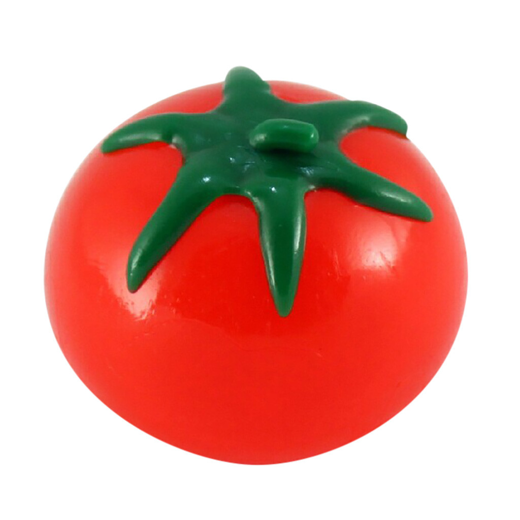 Water-Ball-Toys Fruit Squish Stress-Relief Funny Gift Kawaii Food Reliever Tomato Simulation