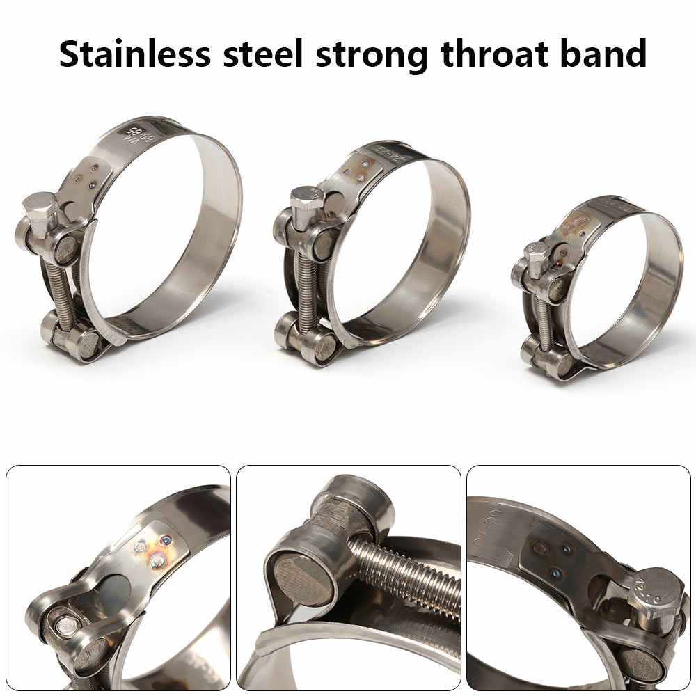 20-32 mm Heavy Duty Stainless Steel Hose Clamps High Quality Pipe Tube Clips 636