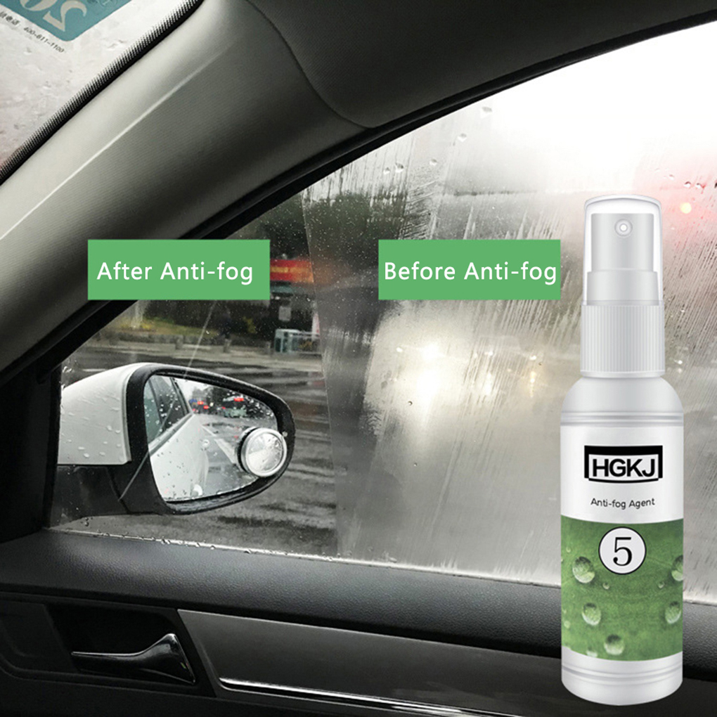 50ml Car Care Anti-fog Agent Waterproof Rainproof Anit-fog Spray For Front Window Glass Anti Mist Goggles