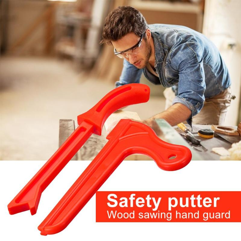 Wood Saw Push Sticks Safety Hand Protection Sawdust For Carpentry Table Working Increase Safety Visibility Of Push Rod In Use